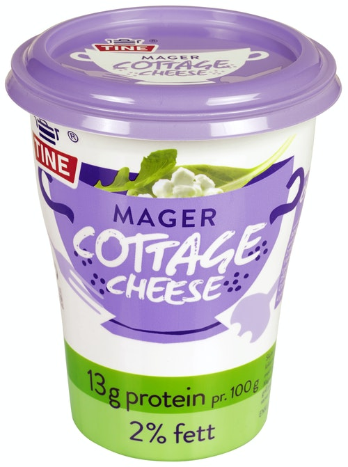 Tine Cottage Cheese Mager, 400 g