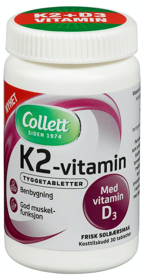 Collett K2 Vitamin 30 stk
