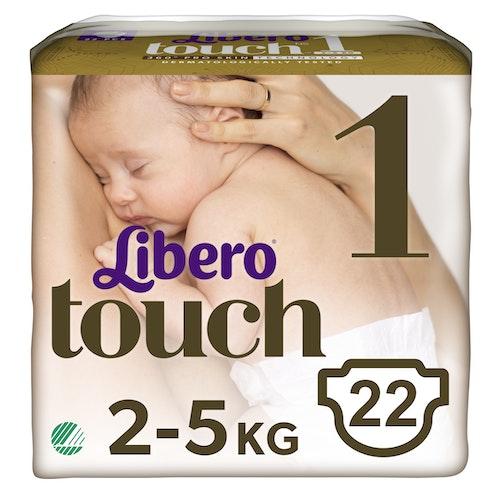 Libero Libero Touch Tapebleie, Str.1 2-5kg, 22 stk
