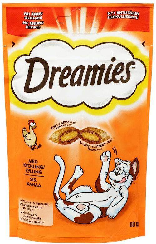 Dreamies Kylling 60 g