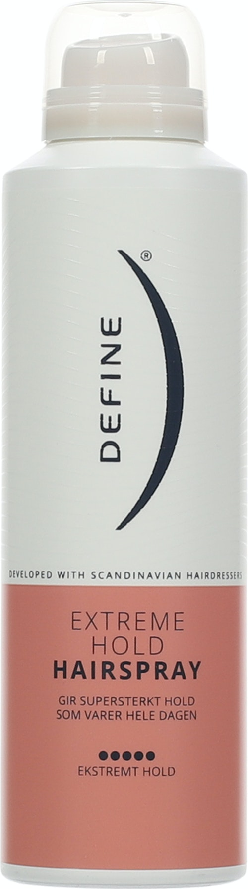Define Hairspray Extreme Hold, 200 ml