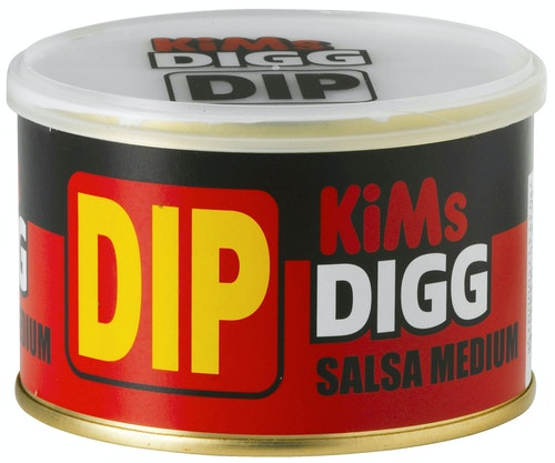 Kims Digg Salsa Dip Medium 255 g
