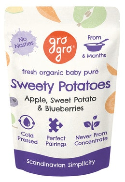 Gro Gro Sweety Potatoes fra 6 mnd økologisk, 100 g