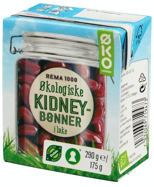 REMA 1000 Kidneybønner Økologisk, 180 g