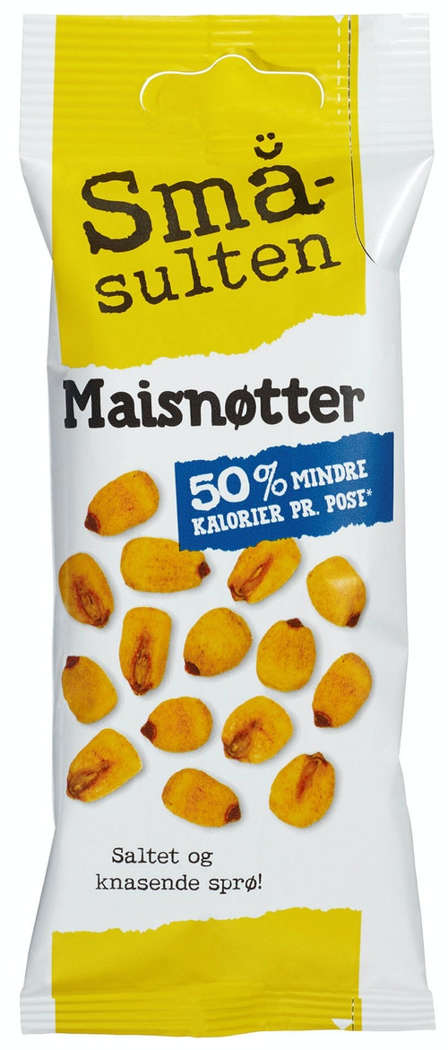 Polly Småsulten Maisnøtter 35 g