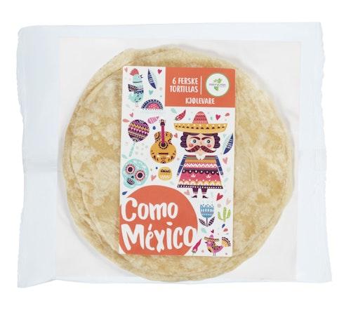 Como Mexico Fersk Hvetetortilla Como Mexico 300 g