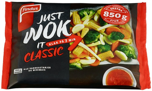 Findus Wok Classic Big Pack 850 g