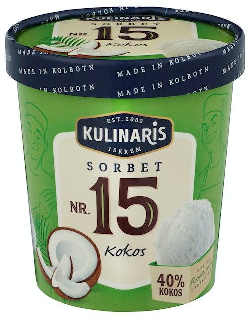 Kulinaris Sorbet av Kokos 0,5 l