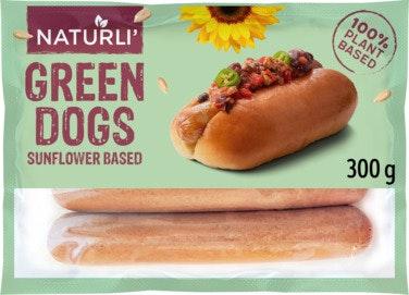 Naturli' Green Dog Grillpølse vegansk 300 g
