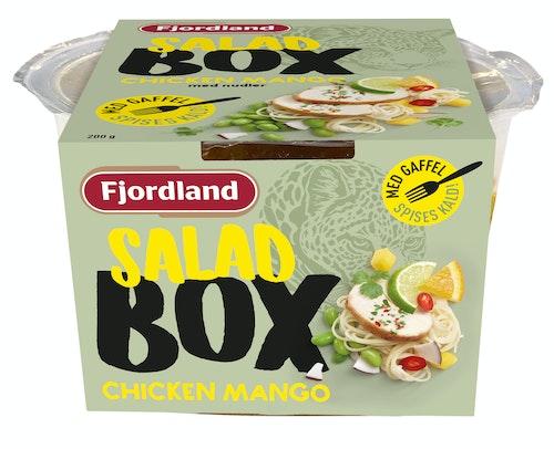 Fjordland Kylling Mangosalat Box Med Nudler, 200 g