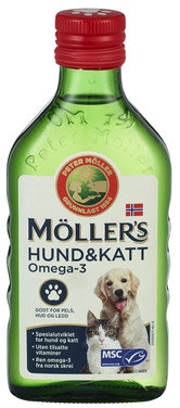 Möller's Möller's Omega-3 til Hund & Katt 250 ml