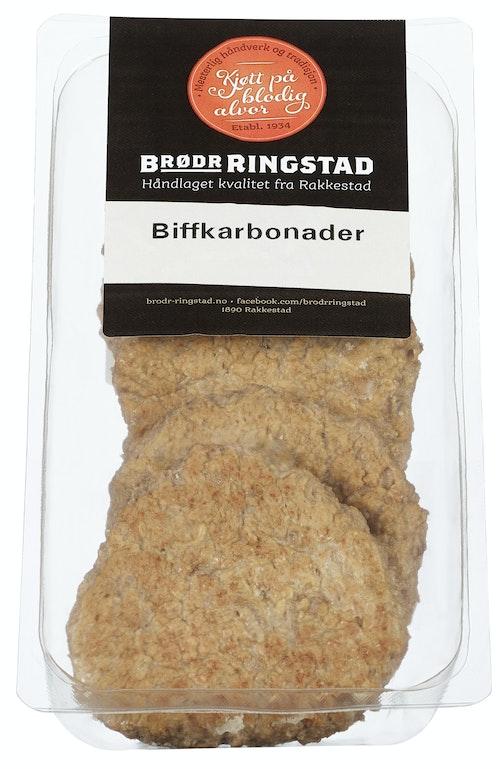 Brødr Ringstad Biffkarbonader 4 stk