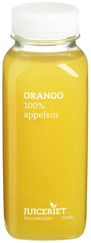 Juiceriet Orango 100% Appelsin, 250 ml