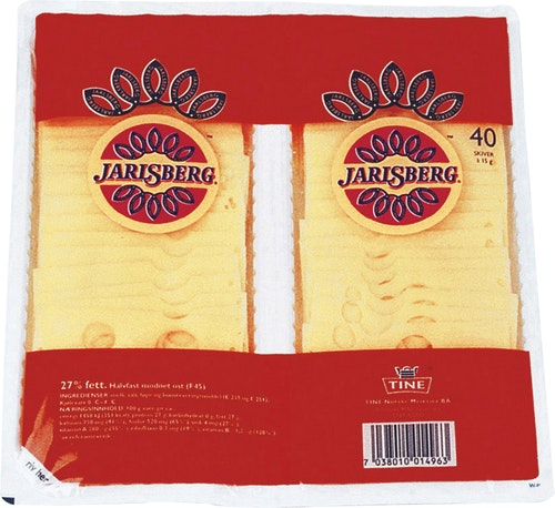 Tine Jarlsberg 27% Hotellbrett, 600 g