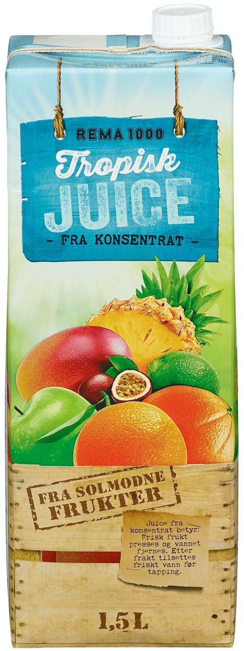 REMA 1000 Tropisk Juice 1,5 l