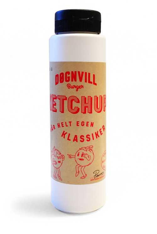 Døgnvill Ketchup 250 ml