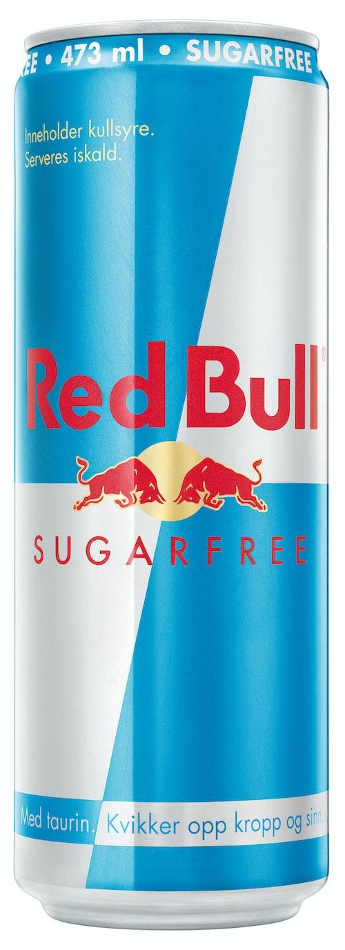 Red Bull Red Bull Energidrikk Sukkerfri 473 ml