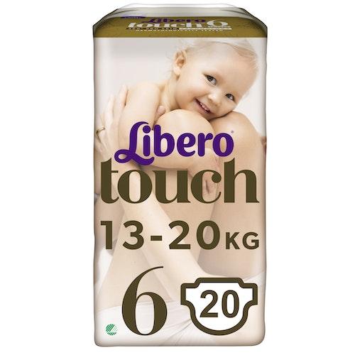 Libero Libero Touch Tapebleie, Str.6 13-20kg, 20 stk