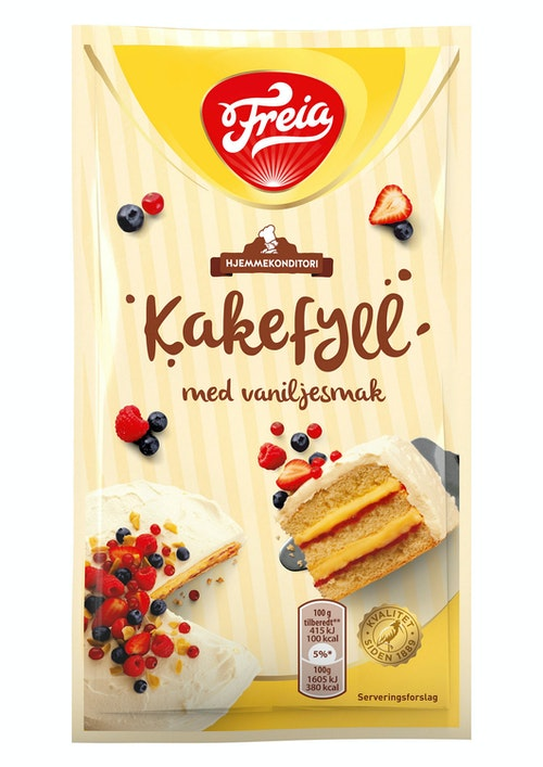 Freia Kakefyll Vaniljesmak 80 g