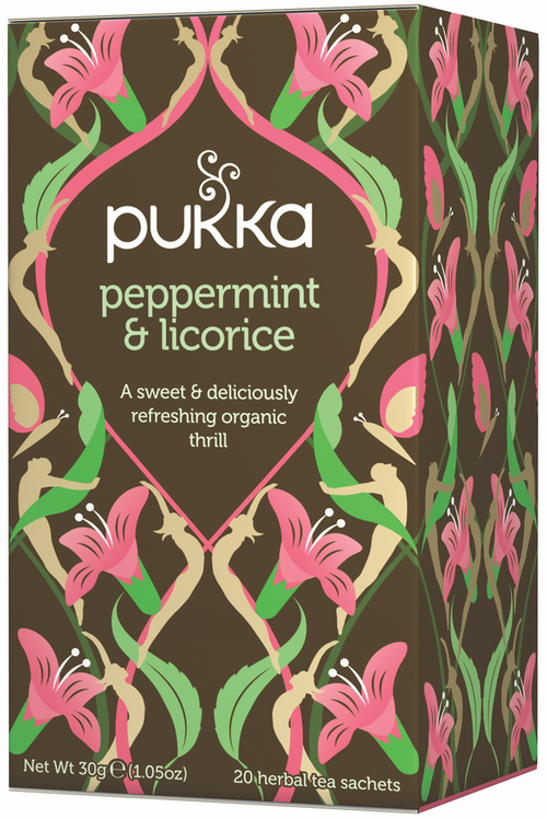 Pukka Pukka Peppermint & Licorice Tea 20 stk