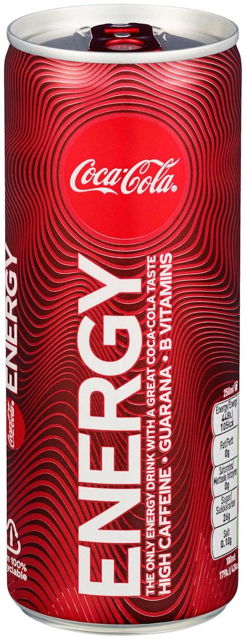 Coca-Cola Coke Energy 250 ml