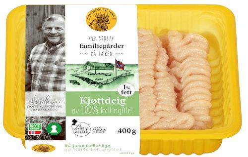 Den Stolte Hane Kjøttdeig Av 100% Kyllingfilet 400 g
