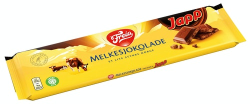 Freia Melkesjokolade Med Japp 200 g