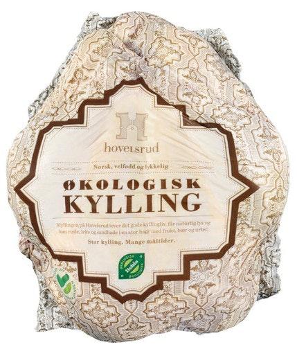Hovelsrud Gård Økologisk Hel kylling ca. 2,4 kg
