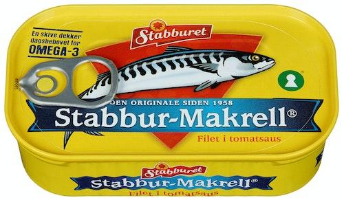 Stabburet Stabbur-Makrell I Tomat 110 g
