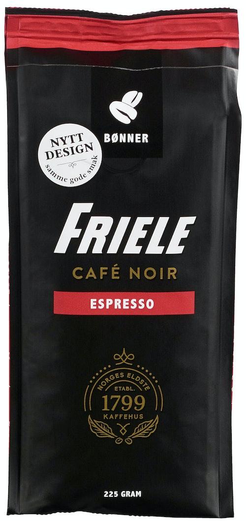 Friele Cafe Noir Espresso Hele bønner, 225 g