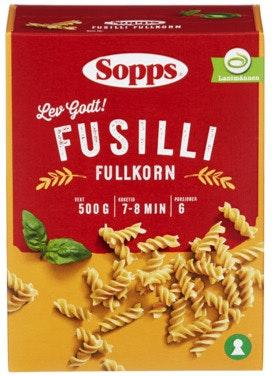 Sopps Fusilli Fullkorn 500 g