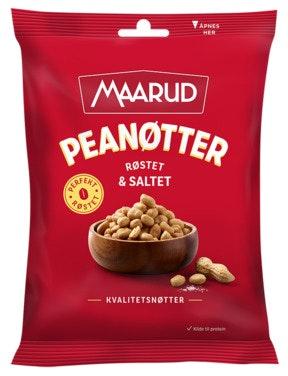 Maarud Peanøtter Røstet & Saltet, 300 g