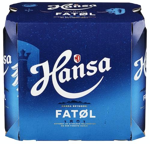 Hansa Borg Hansa Fatøl 0,5l x 6 stk, 3 l