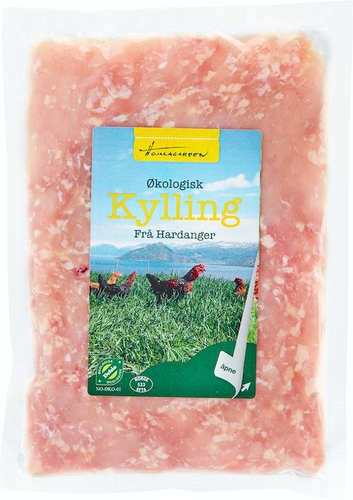 Homlagarden Økologisk Kyllingkjøttdeig ca. 500 g