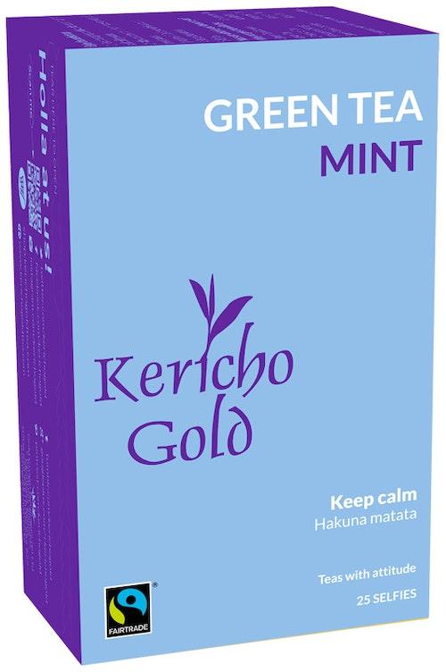 Kericho Gold Grønn te Mint 25 stk