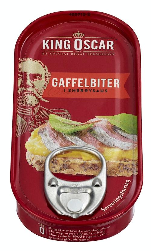 King Oscar Gaffelbiter i Sherrysaus 50 g