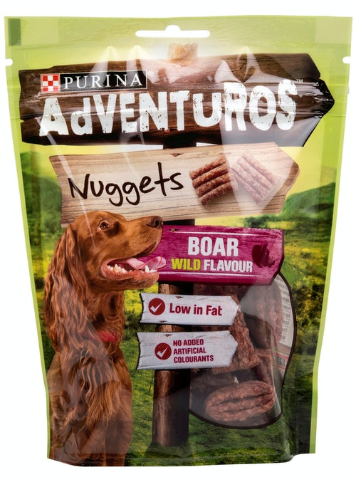 Purina Adventuros Nuggets Boar Wild Flavour, 90 g