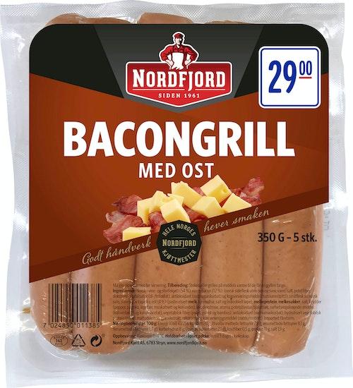 Nordfjord Bacongrill med Ost 350 g