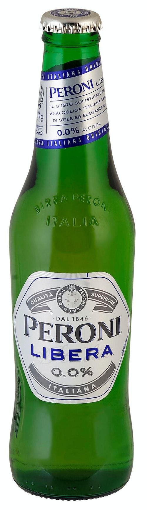 Peroni Libera 0% Alkoholfri, 0,33 l