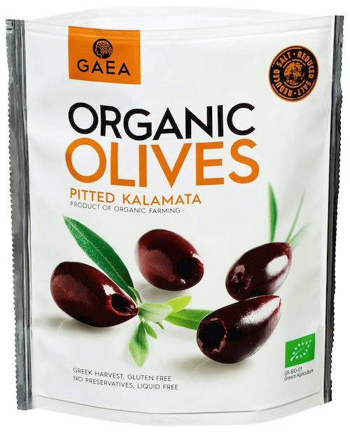 Gaea Organic Olives Pitted Kalamata Økologisk, 150 g