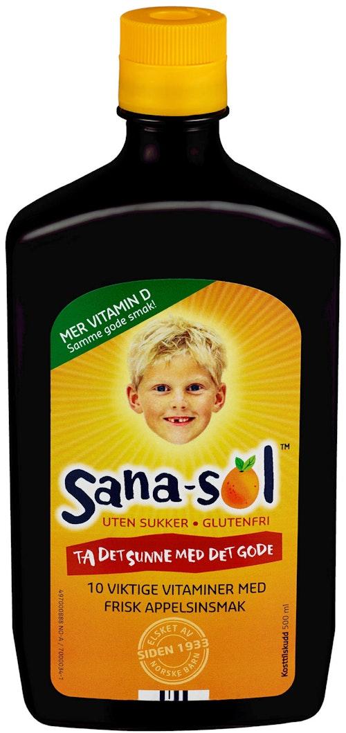 Sana-sol Sana-sol Uten sukker, 500 ml