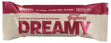 Maxim Maxim Dreamy Yoghurt & Raspberry Proteinbar, 55 g