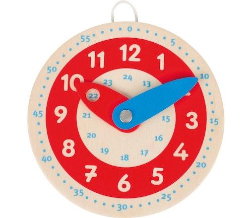 Emo Liten klokke i tre, lær klokka 1 stk