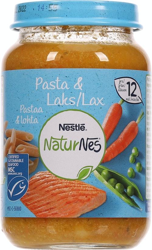 Nestlé Naturnes Pasta med Laks Fra 12 mnd, 190 g