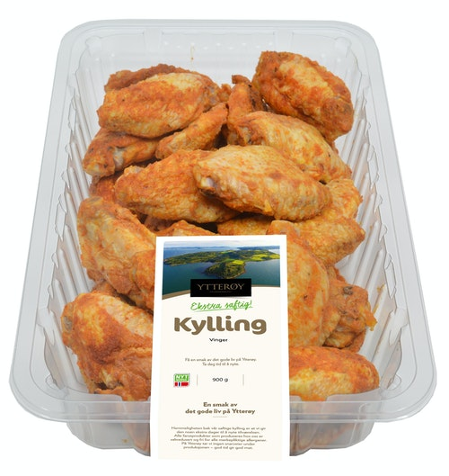 Ytterøy Kylling Grillede Kyllingvinger 900 g