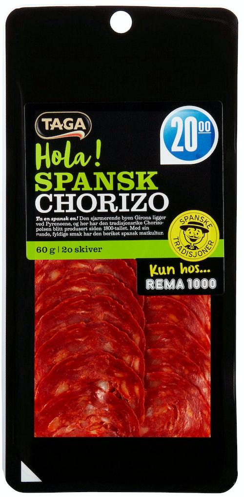 Taga Chorizo Extra Spekepølse 60 g