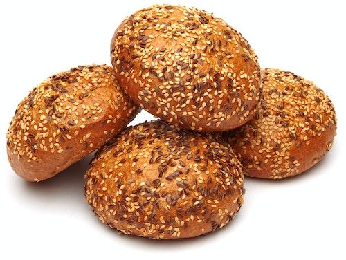 Brødverket Kornrundstykker 4 stk