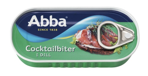 Abba Cocktailbiter i Dill 55 g