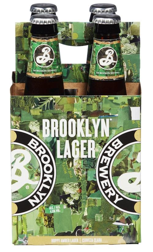 Brooklyn Brooklyn Lager 4 x 0,36l, 1,42 l