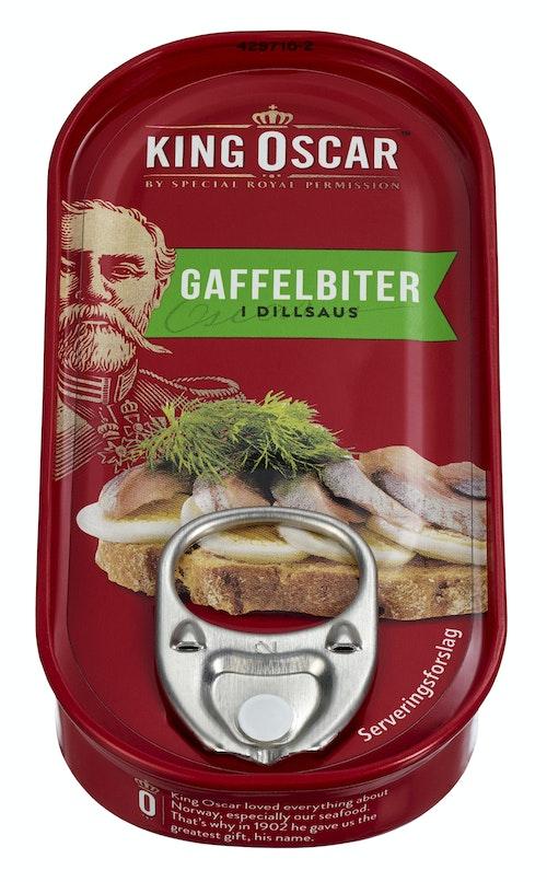 King Oscar Gaffelbiter i Dill 50 g